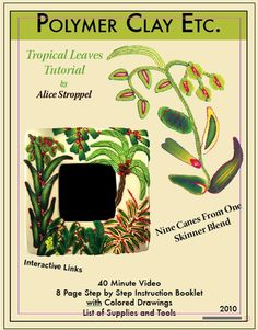 Tropical Leaves Tutorial - Alice Stroppel