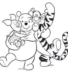 Piglet, Pooh & Tigger