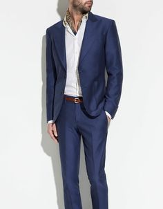 STRUCTURED BLAZER - Suits - Man - ZARA When did this come out? i want this now!!!