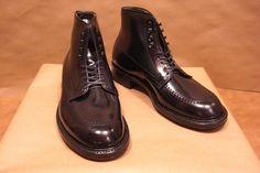 Black Indy Boot (Alden Shoes of Carmel)