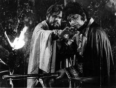 Dilip Kumar and Manoj Kumar.