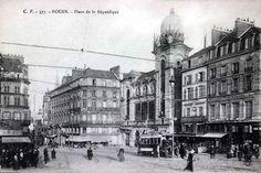 Rouen, Place de la Republique