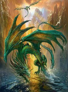 30 Awesome Fantasy Dragon Artworks