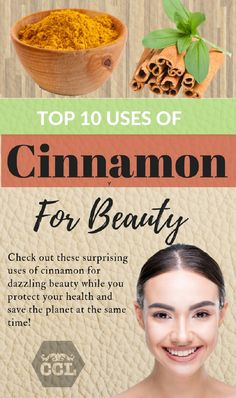 Cinnamon is just amazing as a natural beauty treatment, whether one is talking skin, hair, mouth, or lips. Try these beauty hacks for amazing results today! Cinnamon Uses, Cinnamon Benefits, Cinnamon Recipes, Natural Cures, Natural Skin Care, Natural Beauty, Get Healthy, Healthy Hair, Healthy Recipes