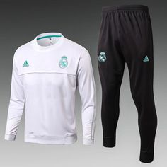 Real Madrid 2017 18 White Kids( Youth) Tracksuit Slim Fit 8ebef0545b942