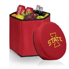 Iowa State Cyclones Collapsible Cooler Durable 12 Quart Cooler
