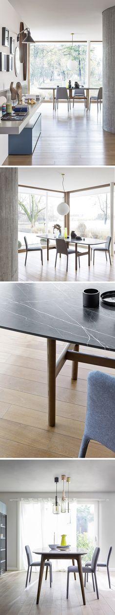 Die neuen Stühle von Novamobili haben ein geradliniges und minimalistisches Design.  #stuhl #chair #modern #minimalistisch #minimalism #möbel #furniture #inspiration #interiordesign #interiordecorating #tisch #table #esszimmer #diningroom #einrichtung #novamobili