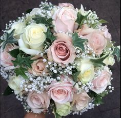 Bridal bouquet made by me