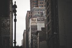 Jedna ze ściennych reklam na fasadzie budynku w Nowym Jorku. Uwielbiam takie pozostałości poprzednich czasów.    Praca własna robertdanieluk.com