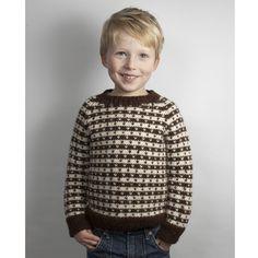 071 Drengesweater med lus<br>Str 4-9 år
