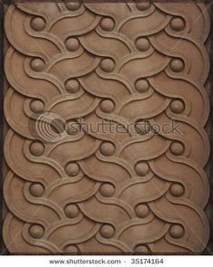 Beautiful braided architectural element from downtown Columbus. Repeatable image.
