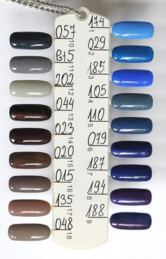 cosmetics zone Nail Colors, Palette, Polish, Cosmetics, Nails, Finger Nails, Vitreous Enamel, Ongles, Pallet