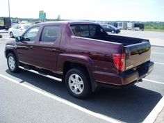 The cool lines of the 2010 Honda Ridgeline 4WD