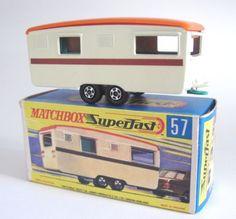 Matchbox Superfast 57a Trailer Caravan