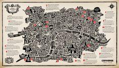 Typographic version of London