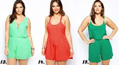 Shapely Chic Sheri - Currently Craving: More Plus Size Rompers  Jumpsuits