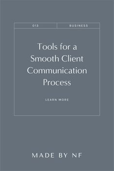 I'm excited to be sharing the key tools that help simplify and run my business, while up-leveling my client communication process. From the first discovery call to off-boarding a client, I'm sharing 5 tools that help create a smooth and simple client experience. #clientcommunicaiton #businesstiips