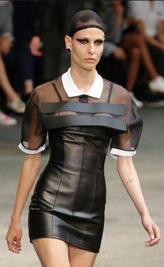 Italian designer Riccardo Tisci as part of Givenchy Spring-Summer 2015 fashion collection --- #riccardotisci #fashion #givenchy