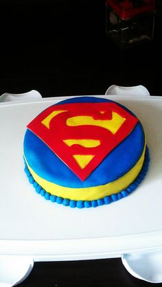 Superman cake for the super man in your life!