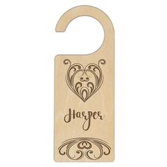 A fun & funky unisex design heart door hanger as your childs door is personalised with this sweet door hanger design.  Door Hangers are made of laser quality ply wood and hand finished in the stain / lacquer combineation of your choice. Choose from clear lacquer, maple, walnut and jarrah finishes. Product Dimensions in mm 235 (L) 90(W) 3(H) Stocking Stuffers For Teenagers, Tribal Heart, Ply Wood, Maple Walnut, Door Hangers, Bottle Opener, Australia, Unisex, Doors