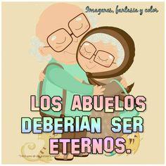 El 26 de julio se celebra el día de los abuelos en muchos países latinoamericanos.