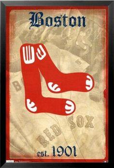 Mlb, Red Sox World Series, Red Sox Baseball, Boston Baseball, Baseball Signs, Baseball Art, Baseball Stuff, Baseball Season, Baseball Posters