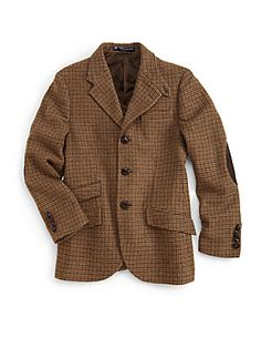 Ralph Lauren Boy's Wool Hacking Jacket