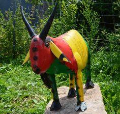 Unsere kleine Ziege im Jamaika Look