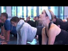 Watch Jackie Kostek and fellow yogis participate in the first ever Blackhawks Yoga held at the United Center Atrium.