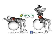 © Sasham | Dreamstime.com – Fitball exercising. Ball Crunch. Female