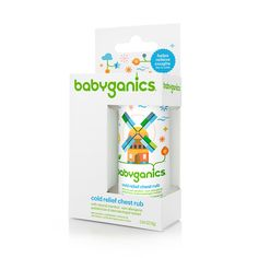 cold relief chest rub | babyganics - natural blend of eucalyptus, rosemary and lavender soothes and comforts the crank.