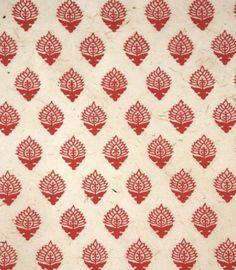 Red and tan pattern (Univers Mininga)