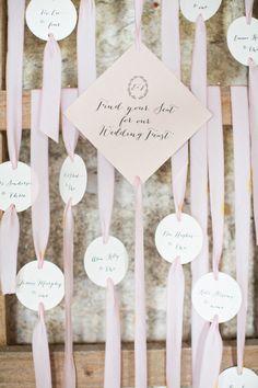 Pastel wedding inspiration ~ Pearl and Godiva Event Design via Wedding Sparrow
