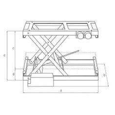 Southworth lift tool 4429108 aluminum scissor lift table 300 lb single scissors lifts keyboard keysfo Gallery