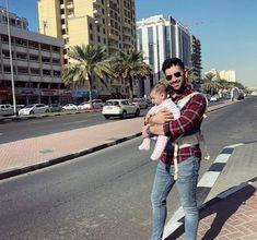 Daddy And Son, Daddy Daughter, Hamza Abbasi, Feroz Khan, Aiman Khan, Ayeza Khan, Cute Girl Photo, Pakistani Actress, Daddys Girl
