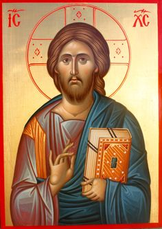 Religious Icons, Religious Art, Anima Christi, Christ Pantocrator, Greek Icons, Pictures Of Jesus Christ, Christian Religions, Biblical Art, Byzantine Icons