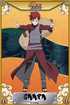 Gaara is the 5th Kazekage of the Hidden Sand Village, son of the 4th Kazekage and younger brother of Kankuro & Temari. Gaara was once the most feared and despised person in the Sand Village as ...