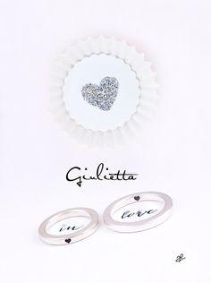 Ringe GIULIETTA-in-LOVE von amberemotion auf DaWanda.com