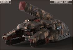 ArtStation - Shagohod (Metal Gear Solid 3), Ben Nicholas