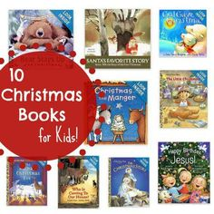 10 Christmas Books for Kids! The best books for your kids to enjoy the month of December!