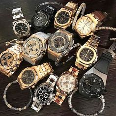 """142 Likes, 14 Comments - The Watch Crowd ⌚️️ (@watchcrowd) on Instagram: """"Decisions... Decisions...  @rolexganguk Fancy Trying To Pick One From This Bunch? Credit…"""""""