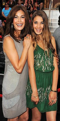 Teri Hatcher with lovely daughter Emerson Rose.