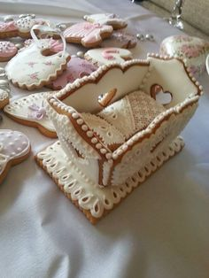 .Great Cookie Idea for Baby Showers