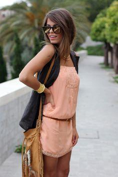 Silk Salmon ( Sunglasses & Vests ) I love her hair too