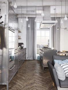 Cafe And A Home by Denis Krasikov
