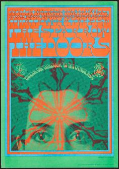 The Doors at The Avalon Ballroom (Family Dog 1967). Concert Poster #