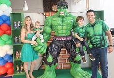 Resultado de imagem para festa tema hulk