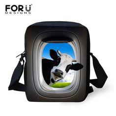 FORUDESIGNS Hot Sale Animals School Bags For Boys Cute Giraffe Girl Schoolbag Children Kid Mini Shoulder Bookbag Mochila Satchel
