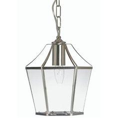 Oaks Lighting Dulverton Lantern, Antique Chrome