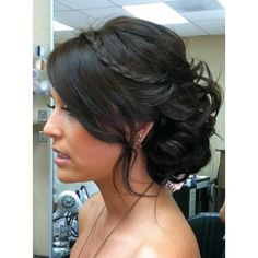 prom hairstyle Hair and Beauty Tutorials ❤ liked on Polyvore